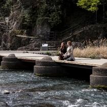 亀山公園 じずみ橋