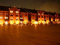 横浜『赤レンガ倉庫』みなとみらいにある歴史的建造物です。