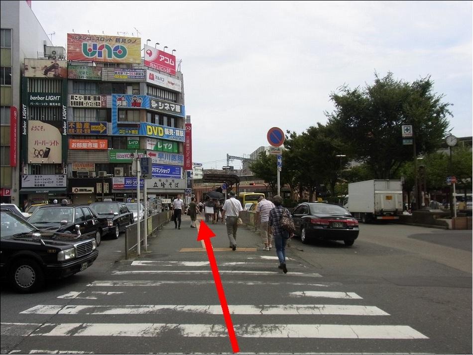 【JR鶴見駅より(4)】地上に出たらとにかく真っ直ぐ!