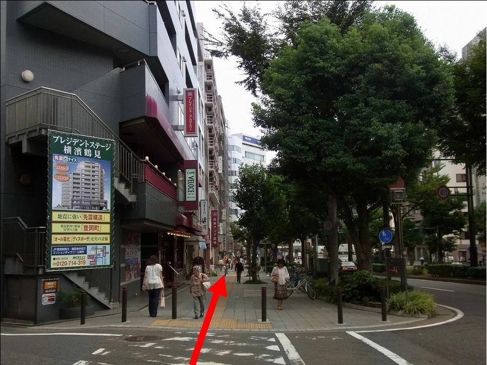 【京急鶴見駅より(8)】カフェ ヴェローチェを通り越して・・・