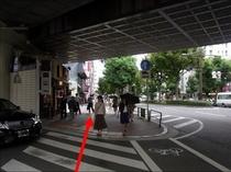 【京急鶴見駅より⑦】京急線をくぐり抜けて・・・