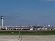 羽田空港までは京急線エアポート急行でおよそ25分です