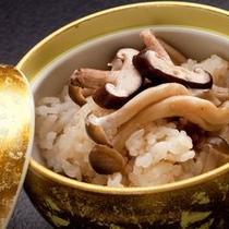 【お料理一例】特節ごとに変わる炊き込みご飯。お腹いっぱいでもつい食べてしまう…