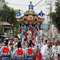 秩父の夏の代表的な祭り「川瀬祭り」