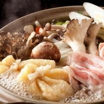 【お料理一例】お鍋(期間限定・プラン限定)