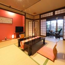 本館1階【竹姫】10畳和室(禁煙)女性にうれしいアメニティ付きのお部屋