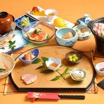 【ご夕食一例】秩父の地のものを使い、手間をかけ、ていねいにお作りしています