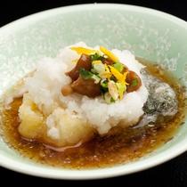 【ご夕食一例】年明け限定のおもち料理