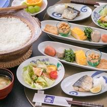 【朝食】旅館の美味しい朝食をどうぞ!