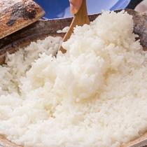 【朝食】土鍋で炊き上げるごはんはおいしさバツグン!