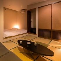 【海の見える高台別館の客室】  ◆かもめ◆ 隠れ家的で落ち着いた雰囲気のお部屋です。