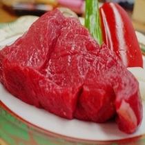 脂肪が少なく、やわらか〜い信州牛ステーキ♪