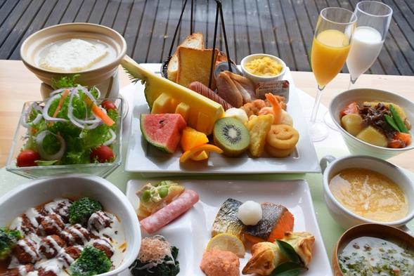 一日を元気にスタート♪大満足の朝食ビュッフェプラン【1泊朝食】