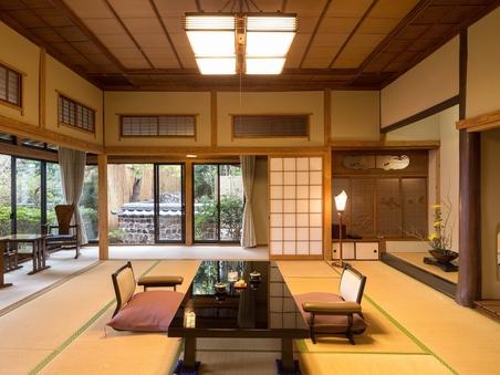 【離れ】水明荘 「有明」 12.5畳+5畳(露天風呂付)