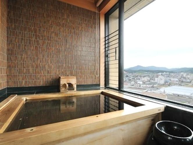 展望風呂付き客室