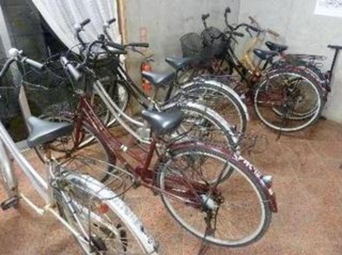 レンタサイクルもあります