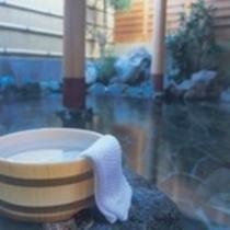 天然温泉 露天風呂