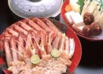 松葉がに かにすき鍋