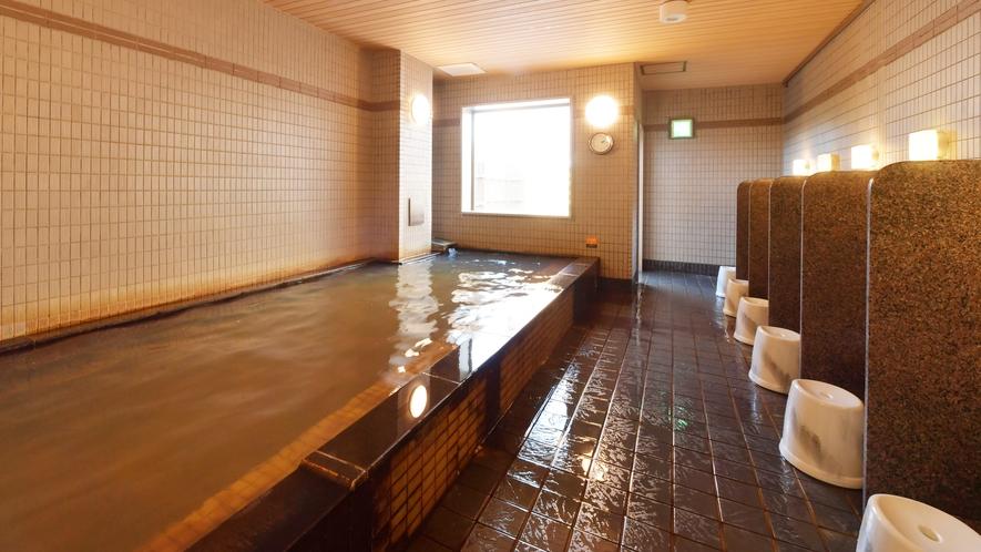 【天然温泉大浴場】