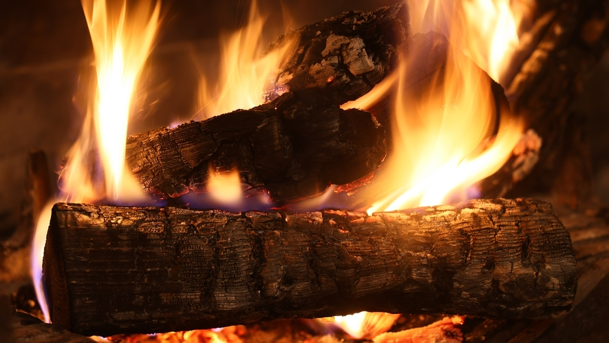 【バーラウンジ PLATTO】木々燃ゆる音が最高のBGM。