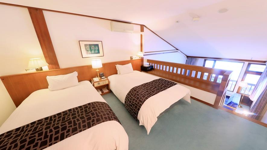 【メゾネット(一例)】2階はベッドルームのお部屋。