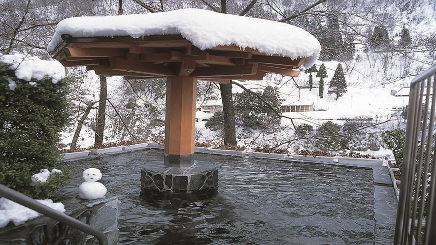 露天風呂(冬季)
