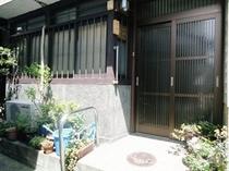 町屋(東山)の玄関