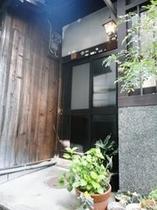 町屋(清水)の玄関