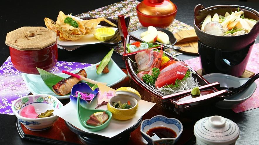 ■ご夕食 海鮮料理 冬は日替わり海鮮鍋♪魚介の旨味がたっぷり染みた鍋に箸が止まりません☆
