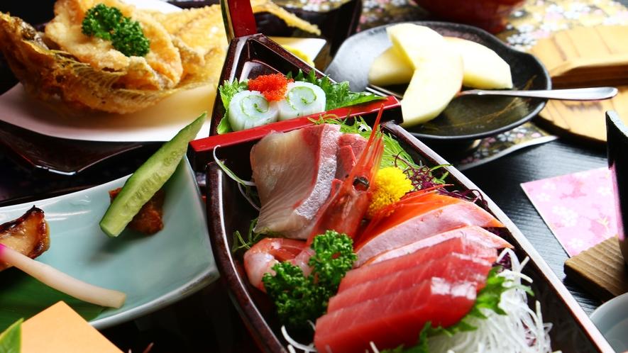 ■ご夕食 海鮮料理 鮮度が命!その日仕入れたお魚をたぷり味わえるお料理をご提供致します!