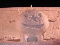 2008冬!札幌雪まつりに登場 うにまる君