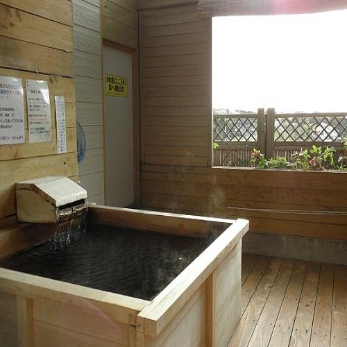 客室内専用露天風呂