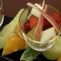 フルーツ盛り一例
