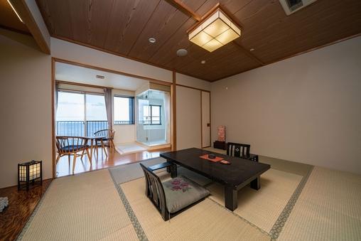 リニューアル天然温泉展望風呂付き・和室10畳■東海亭■