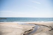 大浴場(大洋)から望む津軽海峡
