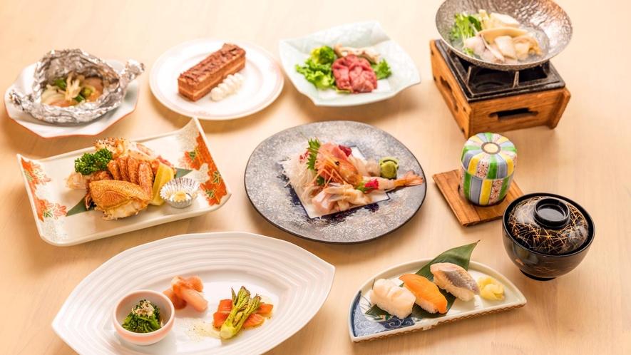 磯め 旬の道産季節膳(イメージ)