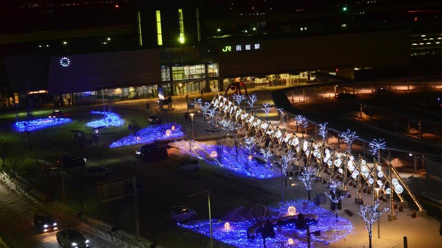 JR函館駅前