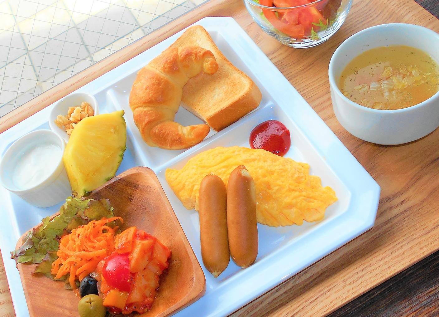 ご朝食メニュー(洋食)