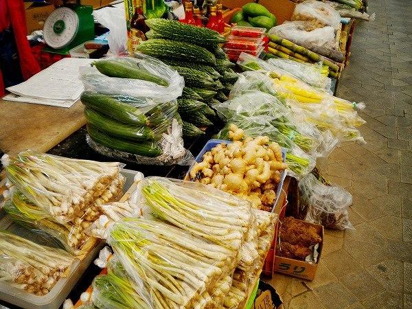 まるで東南アジアの様な食材