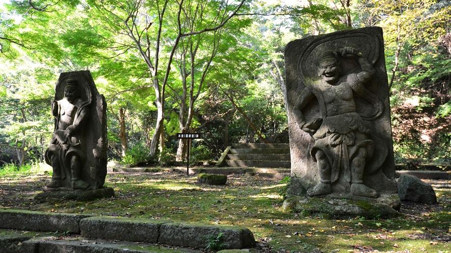 *【旧千燈寺跡】国東六郷満山寺院を開基したといわれる仁聞菩薩が最初に開いたのが千燈寺。