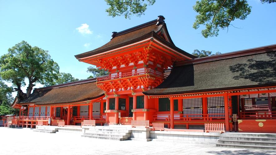 *【宇佐神宮】全国に4万社あまりある八幡様の総本宮。