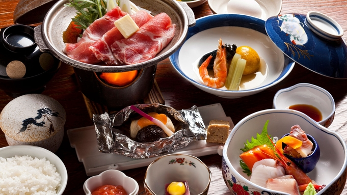 【マル得いずみ◎/お食事処】人気No1☆温泉&北海道郷土料理<豚すき焼き>プラン♪