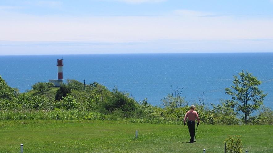 【パークゴルフ】太平洋を眺めながらのプレイ