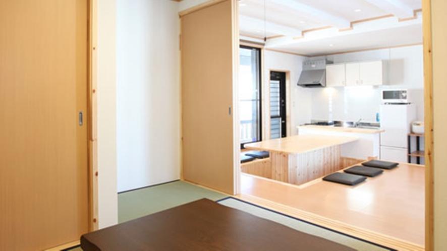 *【客室一例】和モダン棟の和室(寝室としても利用OK)