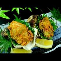 岩牡蠣のフライ