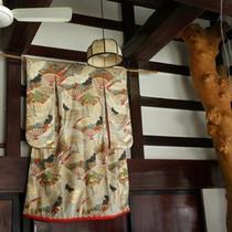 花嫁衣装のオブジェ