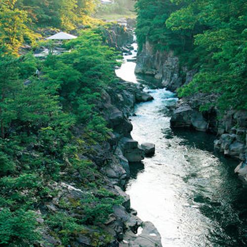 【観光】【名勝・国定公園 厳美渓】(車で約35分)