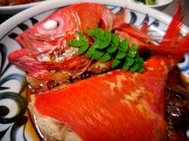 地金目鯛の姿煮つけ(別注 要予約)