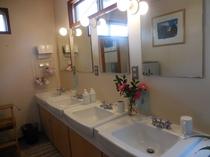 2階の洗面所