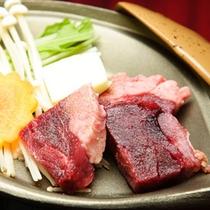 猪肉の鉄板焼